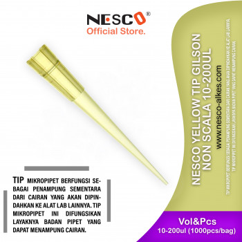 1-1 Nesco Yellow Tip Gilson non scala 10-200ul
