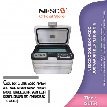 1-1 Nesco Cool Box ACDC  box Vaksin berpendingin