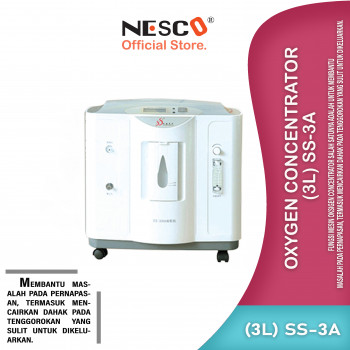 1-1 Oxygen Concentrator (3L) SS-3A
