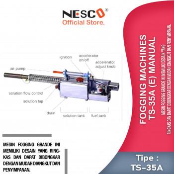 1-1 Fogging machines TS-35A (E) manual