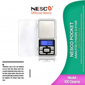 1-1 Nesco Pocket Analytic (100gr) 0_01gr ctk