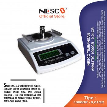 1-1 Nesco Timbangan Analitic 1000gr - 0,01gr