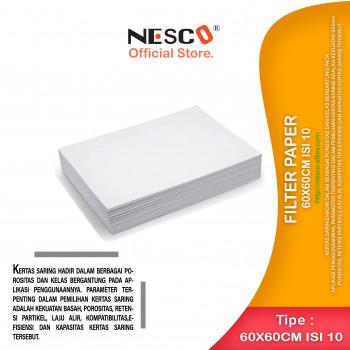 1-1 Filter Paper 60x60cm isi 10