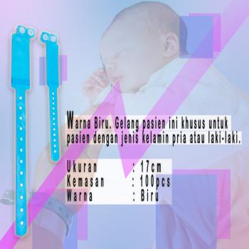 1-3 Gelang ID Anak blue