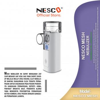 1-1 2 Nesco Mesh Nebulizer (Portable Type) 'Feellife' Alat untuk penderita gangguan pernapasan