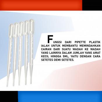 1-2 Pipette Plastik 5 cc