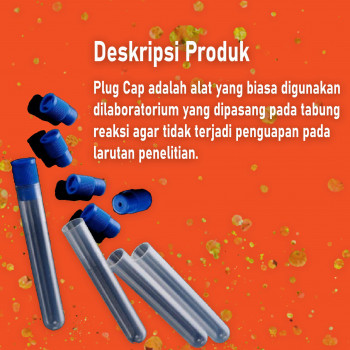 2-1 Plug Cap Test Tube KJ-717