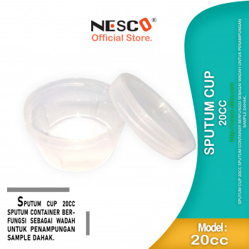 1-1 Sputum cup,20cc