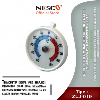 1-1 Nesco Thermometer Refrigerator ZLJ-019 (-50+50) Thermometer Kulkas