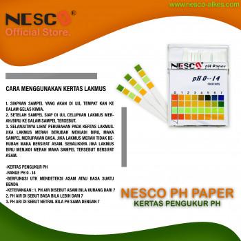 1-3 Nesco PH Paper  Kertas Pengukur PH