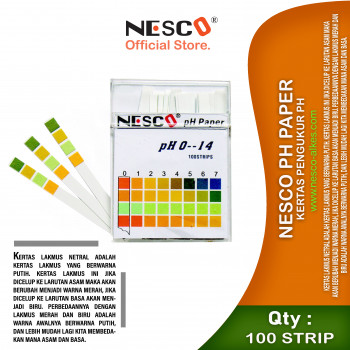 1-1 Nesco PH Paper  Kertas Pengukur PH