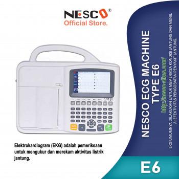 1-1  Nesco Ecg Machine, Type E6