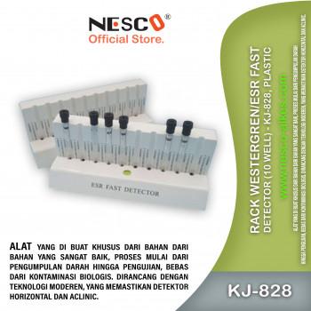 1-1 Rack WestergrenESR Fast Detector (10 Well) - KJ-828, Plastic
