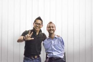 Nic Vujicic Bersama Dengan Coach Yohanes G_ Pauly, World's Top Certified Business Coach