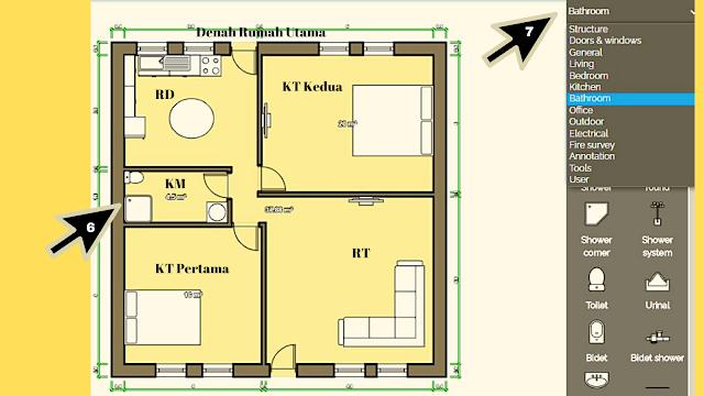 Cara Membuat Denah Rumah Sederhana